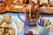 The stuffed olives of Ascoli Piceno — Stock Photo