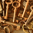 Old keys — Stock Photo #33482665