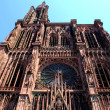 Strasbourg cathedral — Stock Photo