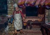 Christmas nativity scene — Zdjęcie stockowe