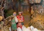 Weihnachten-krippe — Stockfoto