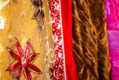 蜡染布 — 图库照片
