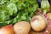 Färska grönsaker — Stockfoto
