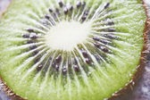 Close up slices of juicy kiwi fruit — Stock Photo