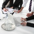 A business meeting — Stock Photo