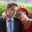 Attractive Couple — Stock Photo