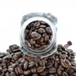 Close up view of the coffee jar — Stockfoto