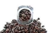 Close up view of the coffee jar — Stock Photo