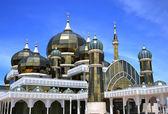 Crystal Mosque or Masjid Kristal in Kuala Terengganu — Foto de Stock