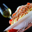 Stock Photo: Pasta Bolognese