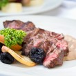 Stock Photo: Venison Steak