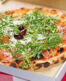 Rucola Pizza — Stock Photo