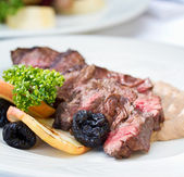 Venison Steak — Stock Photo