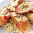 Chicken Roulade — 图库照片