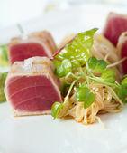 Tuna Chunks — Stock Photo