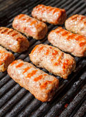 Grilled cevapcici — Stock Photo
