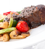 Beefsteak CloseUp — Stock Photo