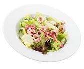 Prato de salada de lula — Foto Stock