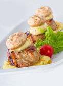 Chicken Mignon — Stock Photo