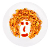 Bolognaise Face — Stock Photo