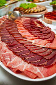 Ham Platter — Stock Photo