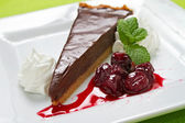 Choco Tart — Stock Photo