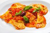 Pasta Ravioli — Stock Photo