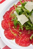 Carpaccio Shot — Stock Photo