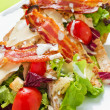 Stock Photo: Bacon & Salad