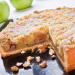Crumble Pie — Stock Photo