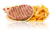 Burger Patty — Stockfoto