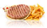 Burger Patty — Stock Photo