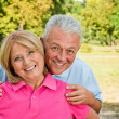 Healthy Senior Couple — Stock Photo