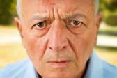 Worried Senior — Stock Photo