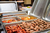 BBQ Catering — Stock Photo