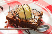 Chocolate Brownie — Stock Photo