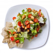 Chicken Salad Overhead — Stock Photo