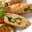 Chicken Rolls — Stock Photo