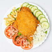 Breaded Veal  — Stock Photo