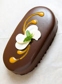 Schokolade dessert — Stockfoto