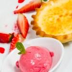 Strawberry Vanilla Dessert — Stock Photo #46697953
