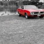 Vintage American car — Stock Photo #31819381