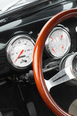 Vintage American car — Стоковое фото