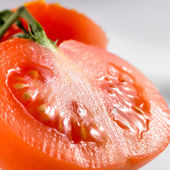 Close-up of a tomato — Stock Photo