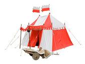Ortaçağ çadır — Stok fotoğraf