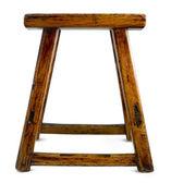 Starožitný asijské stolička — Stock fotografie