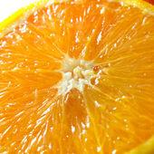 Primo piano di un'arancia — Foto Stock