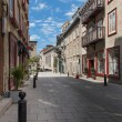 Stock Photo: Street in Quebec