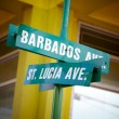 Names of streets — Stock Photo