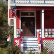 Porch on american house — Stock Photo #40904753